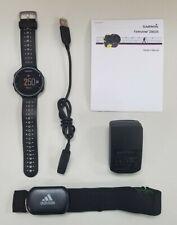 Garmin Forerunner 230 GPS Running Watch- Black/White—With Premium HRM