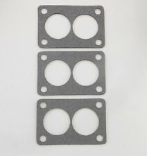 HOT ROD RAT SB CHEVY--ROCHESTER 2G CARB TRI POWER BASE GASKETS (3) R-55-T