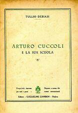 Debiasi Tullio ARTURO CUCCOLI E LA SUA SCUOLA