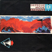 DEPECHE MODE stripped / but not tonight 45RPM 1986 orig. Italy synth pop
