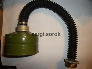 Nbc Russian Gas Mask Black Hose 40mm with filter GP-5-7/ GP-7VM/Ppm-88/Gp-9 new