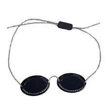 """UV-Patienten Schutzbrille mit Gummizug """"Grün"""" Solariumbrille UV-Brille"""