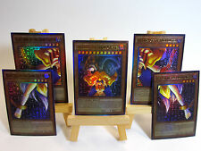 ~PROXY~ Orica Custom Exodia the Dark Caster 5 Card Lot Ultra Rare