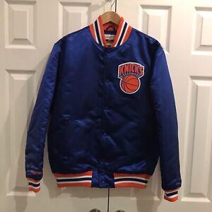 New York Knicks Vintage Mitchell and Ness Satin Jacket Mens Size M