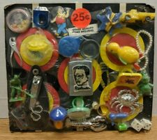 Vintage Toy Prize Board Mix of Sci-Fi Horror and Other Collectibles 101719Dbt6
