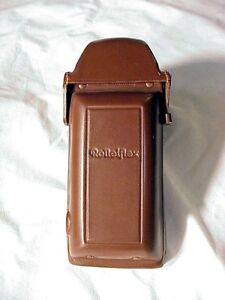 Rollei Ever-Ready Leather Case Front for Rolleiflex 3.5F, 2.8F w/ Prism   NOS  