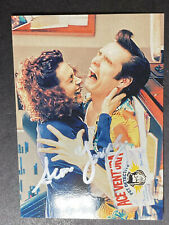 SEAN YOUNG SIGNED 'ACE VENTURA' CARD, COA & MYSTERY GIFT (208)