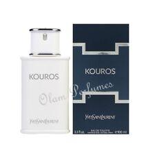 Kouros Men by YSL Yves Saint Laurent  Edt. Spray 3.3oz 100ml * New in Box Seal *