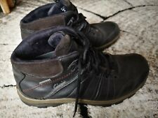 Clarks Rock GoreTex Ankle Boots Lace Up UK 7.5 Waterproof