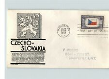CZECHOSLOVAKIA, Overrun Country in World War II,  First Day cover