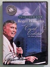 ROGER WILLIAMS in the CRYSTAL CATHEDRAL on HOUR OF POWER   DVD NEW