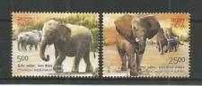 INDIA 2011 2ND AFRICA-INDIAN SUMMIT Elephants Animals Mammals SG,2816-2817 MNH