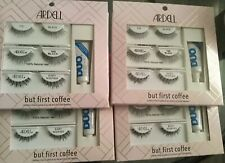 (Lot of 4 Box Total 12 Pr.Ardell But First Coffee Lash Kit