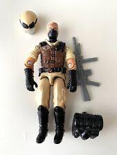 GI Joe Red Laser Black Major Desert Infantry Cobra Viper Blonde Removable Helmet