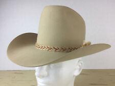 b857920b37c Vintage 1970 s Cowboy Western Hat 6 3 4 Never Worn Beaver RARE