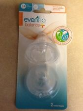 Evenflo Balance + Vented Nipples 8m+ - 2 CT