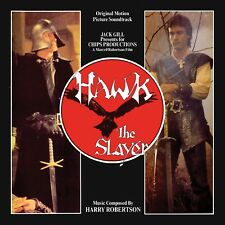 HARRY ROBERTSON - HAWK THE SLAYER (O.S.T.)  CD NEW!