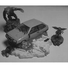 Armorcast 28mm ACWV001 Wrecked Soviet Sub Compact Car Modern Terrain