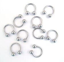 Stainless Steel Horseshoe Body Piercing Jewellery
