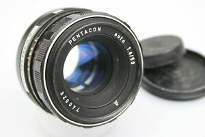 EXAKTA mount PENTACON 50mm f/1.8 Meyer-Optik Görlitz Oreston CLOSE FOCUS .33m