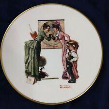 Norman Rockwell's Back to School Plate-1978-Danbury Mint