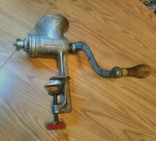 Antique Universal #3 cast Iron Meat Grinder L.F.&C. New Britain Conn. chopper