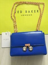 Ted Baker Ladies Leather Crystal Bobble & Rose Gold Cross Body Bag RRP £129 New