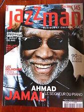 JAZZMAN musique et culture jazz N° 145 Stéphane Grappelli AHMAD JAMAL piano