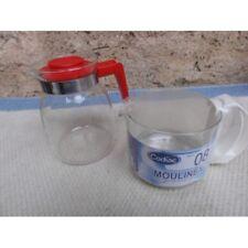 cruche cafetiere verre moulinex/1622-20 d39