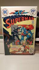 SUPERMAN #275.    (VF+)   ~WORLD OF KYRPTON BACK-UP STORY~   FIRST PRINT   1974