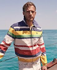 Polo Ralph Lauren Men Vtg Retro CP 93 Regatta Sailing Jacket Snow Beach Stadium L