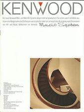 KENWOOD catalogue prospectus ud-700 ud-500 ud-300 ud-900 m-760 m-560 m-850 m-25