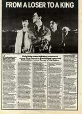 15/5/82PGN31 ARTICLE & PICTURES : THE LONE WOLVES (JAMES KING)