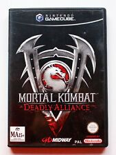 MORTAL KOMBAT DEADLY ALLIANCE - GAMECUBE GC GAME CUBE - PAL ESPAÑA