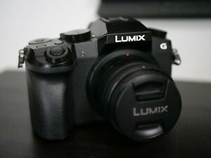 Panasonic LUMIX G7 16.0 MP Interchangeable Lens Camera - Black (Kit with...