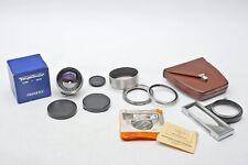 Voigtlander Nokton 50mm f1.5 Prominent rangefinder camera 50/1.5 Lens SET+BEAUTY