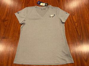 Under Armour Women's Philadelphia Eagles Combine Heatgear Jersey Shirt Medium M