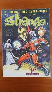 BD STRANGE N°73 - Univers Marvel - Editions LUG - 1976 - Envoi Lettre Verte