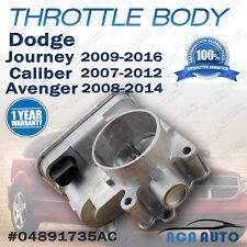 Dodge Throttle Body Avenger Caliber Journey 1.8L 2.0L 2.4L #04891735AC Jeep