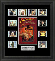 Raiders Of The Lost Ark (1981) 35mm Film Cells Movie Cell Filmcells Presentation