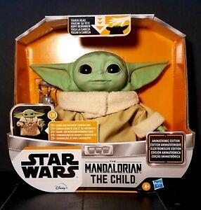 Star Wars The Mandalorian The Child Animatronic Edition 25+ Sounds CASE FRESH