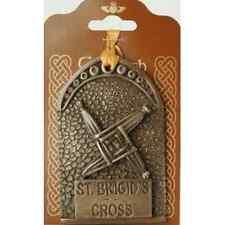 "Bronze St. Brigid's Cross Hanging Decoration 4"" (TSF26) - Island Turf Crafts"