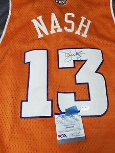 Phoenix Suns Steve Nash Autographed Reebox Swingman Jersey