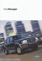 Ford Ranger Prospekt 2004 9/04 brochure Autoprospekt Broschüre brosjyre broschyr