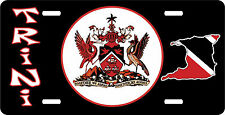 COAT OF ARMS OF TRINIDAD AND TOBAGO LICENSE PLATE