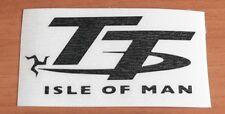 adesivo decal sticker ISLE OF MAN ritagliato ISOLA DI MAN pista racing TT DUNLOP