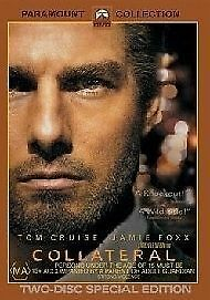Collateral DVD Tom Cruise Jamie Foxx - SAME / NEXT DAY - FAST POST