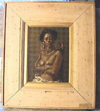 """1952 """"Ruby & The Pearl""""- Early Joseph Sheppard Painting [Shepard]"""