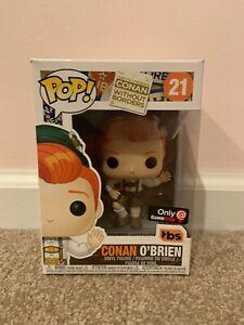Funko POP Conan Without Borders Bavarian Conan O'Brien #21 Gamestop Exclusive