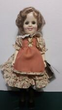 """Ideal Shirley Temple Suzannah of the Mounties 1983 Doll 12"""" no box"""